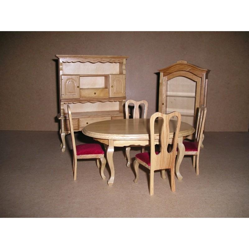 Oak Furniture OA005 Dining Room Set