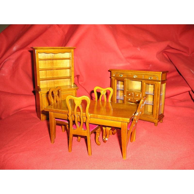 Walnut Furniture W030 Dining Room Set