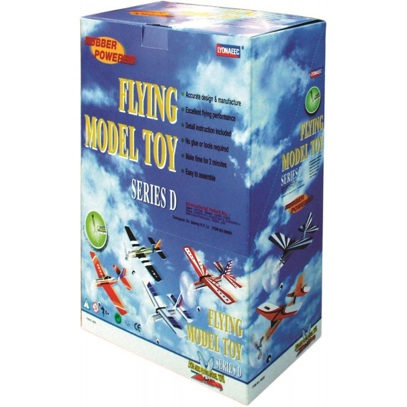 98600 Series D Display Box (8 Assorted Planes)
