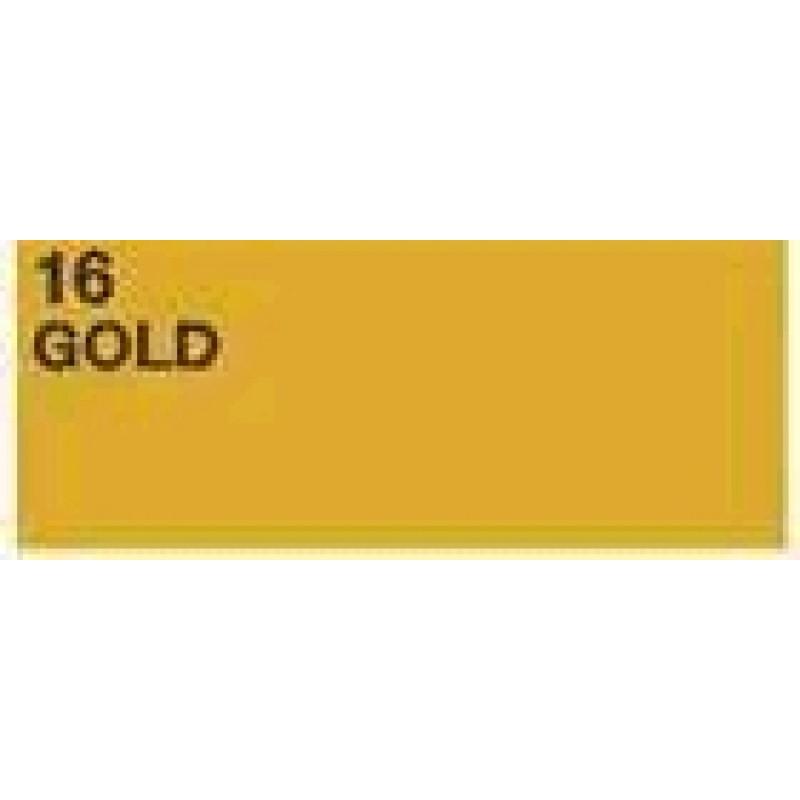 Humbrol No.4 Tins #16 Gold Metallic - New (January 2020)