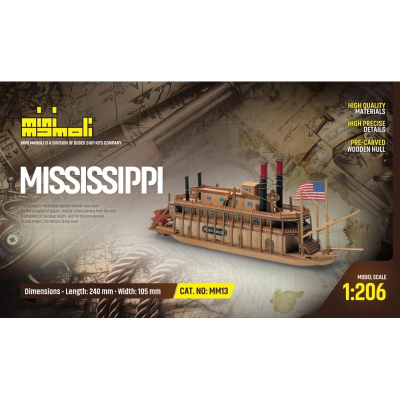 MM13 Mississippi River Boat