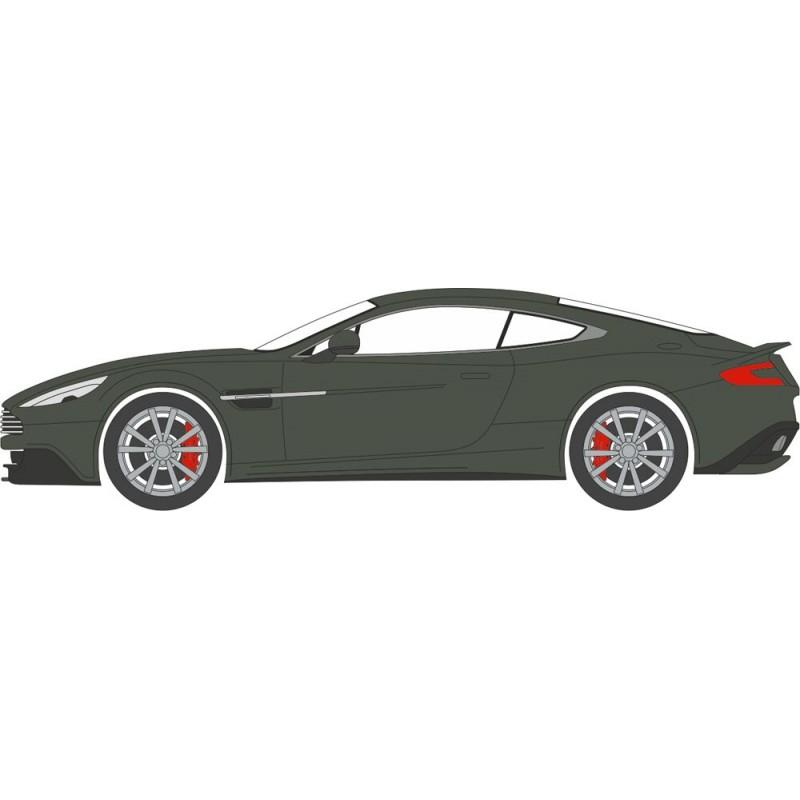 76AMV003 Aston Martin Vanquish Coupe Quantum Silver