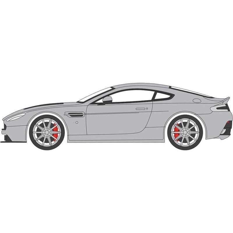 76AMVT002 Aston Martin V12 Vantage S Lightning Silver