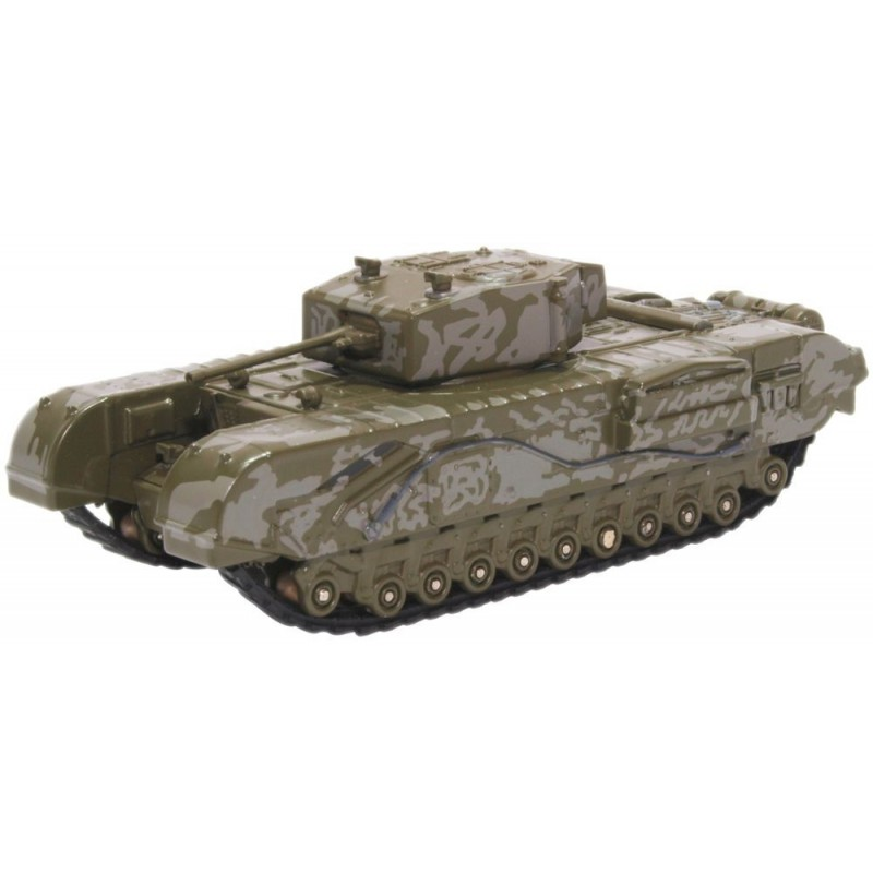 76CHT003 Churchill Tank 142 RAC Tunisia