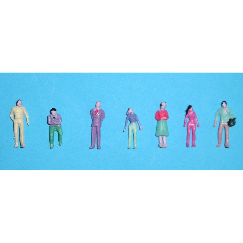 1:150 Painted Figures (25)