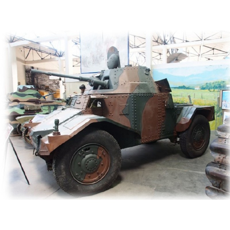 Revell Plastik-Modellbausatz// Armoured Scout Vehicle P204//03259 ca.13 cm 158 tlg